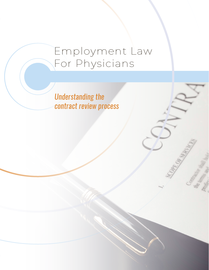 Employment Law for Physicians